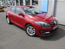 RENAULT MEGANE 1.5 DYNAMIQUE TOMTOM ENERGY DCI S/S 5d 110 BHP **ZERO ROAD TAX** (red) 2013