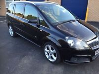 2007 Vauxhall Zafira 1.9 Cdti 150 Sri ALLOYS AIR CON 7 SEATER LONG MOT 3 MONTHS WARRANTY