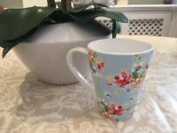 Mug - Cath Kidston style (floral)