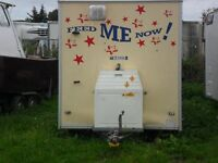 14ftx 7ft catering trailer