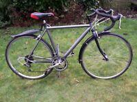 ROAD/RACE HYBRID bike,medium frame, 700c wheels, 16 gears