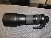Tamron SP 150-600mm F/5-6.3 Di SP VC USD Lens For For Nikon (PRICE REDUCED)