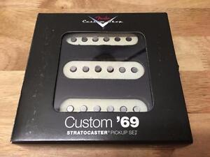 Custom Shop Custom '69 Strat Pickups, Set of 3 *neuf 0992114000 SPECIAL