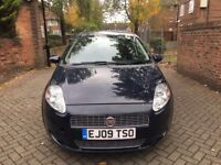 FIAT GRANDE PUNTO 1.4 YEAR 2009 FULL SERVICE HISTORY, VERY LOW MILEAGE, CHEAP INSURANCE, LADY OWNER