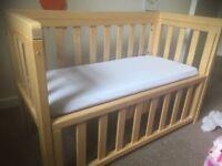 Troll co-sleeper crib / cot