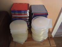 CD cases. Job lot of empty cd/dvd disk cases. 146 in total. Collection only.