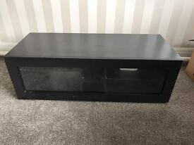 Black onyx TV / media cabinet