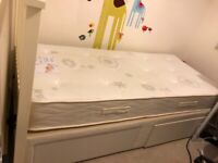 Single bed with storage in excellent condition