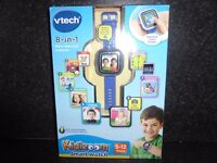 VTech Kidizoom Smart Watch Blue - Perfect condition with box and accessories - £20