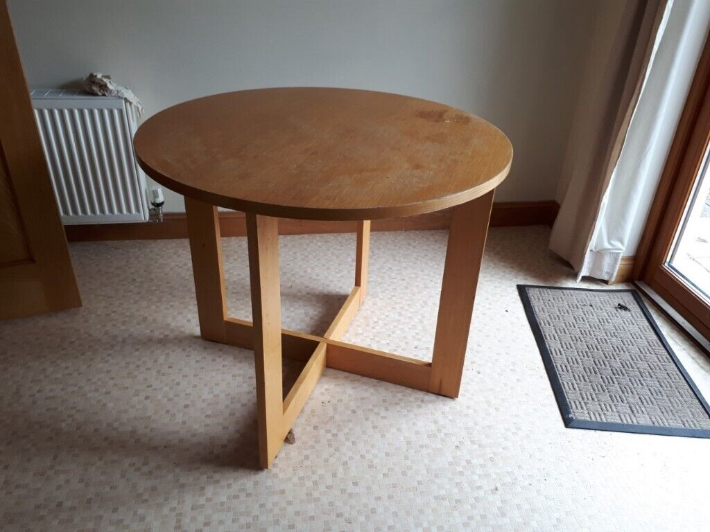 Admirable Small Round Kitchen Table In Menstrie Clackmannanshire Gumtree Interior Design Ideas Ghosoteloinfo