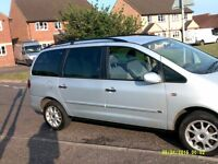 galaxy 7 seater 2 owners full service history years mot £595
