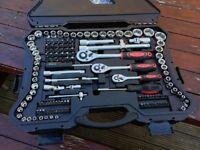 Kraft Socket Set Tools 215 Pieces GERMAN Build