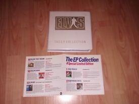 """elvis presley ep collection 11 x 7"""" ep in special wallet limited edition"""
