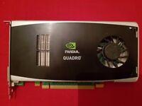 Nvidia Quadro FX1800 graphics card in good condition