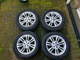 Jaguar XF alloys 17s