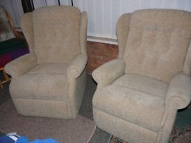 chairs lounge as new cost £450 one only £150