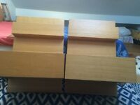 IKEA malm bedside table attachments