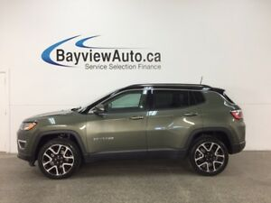 2017 Jeep Compass Limited - 9 SPD AUTO! REM START! PANOROOF!...