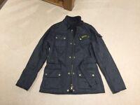 Ladies navy Barbour jacket