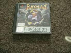 PLAYSTATION ONE ***RAYMAN (PLATINUM) COMPLETE **£ 5**