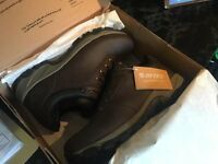 Hi-Tec Mens Altitude vLow iWP Walking Shoes in Dark Chocolate. Size UK13 - Brand New, Boxed & Tagged