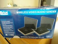 Wireless Video Audio Sender, Brand new in box