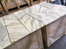 Italian luxury calacatta marble tiles floor and wall marble tiles