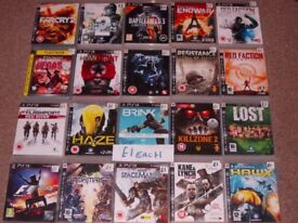 PLAYSTATION 3 GAMES £1 AND £2 EACH