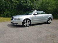 Audi A4 S Line Cabriolet 2.4 - excellent condition for year