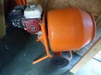 petrol concrete mixer honda engine