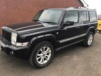 2007 Jeep Commander 3.0crd Limited Auto 7 Seater / trade in accepted