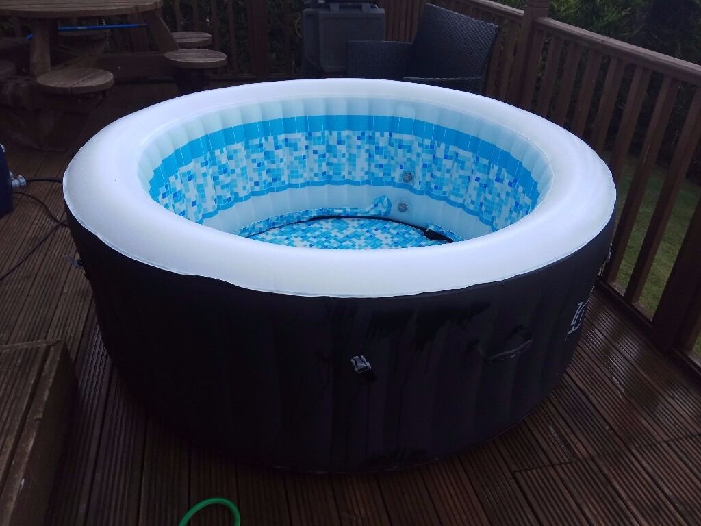lay z spa miami hot tub liner base only excellent condition in livingston west. Black Bedroom Furniture Sets. Home Design Ideas