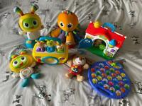 Bundle baby toys - all interactive