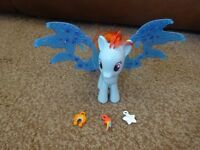 My Little Pony Cutie Mark Magic Friendship Charm Wings Rainbow Dash Playset as New £3 ideal gift