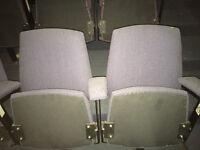 Vintage Home Cinema Seating 1970's