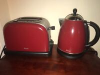 Swan Kettle Red