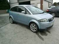 01 Audi A2 1.4 5 door Moted 24/07/2017 nice car great driver ( Can be viewed inside anytime)