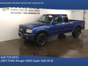 2007 FORD Ranger 4WD Super Cab Sport V6 4.0L