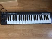 M-Audio Keystation 49 II, Portable 49-Key USB/MIDI Keyboard Controller