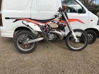Ktm exc 300 ,not Honda Yamaha Suzuki