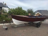 Garden planter or fishing boat