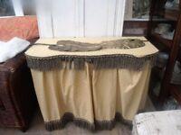 vintage kidney shape dressing table