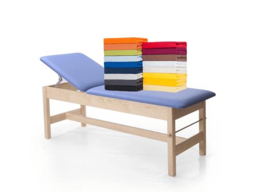 Massageliegenbezug  Spannbezug für Therapieliegen Frottee Baumwolle Frottier