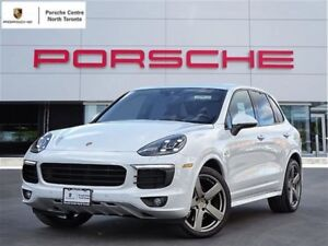 2017 Porsche Cayenne SPORT DESIGN PACKAGE, LCA, 21 WHEELS