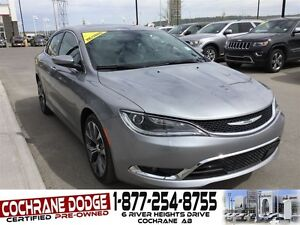 2016 Chrysler 200 C - FULLY EQUIPPED!!