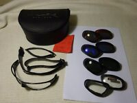 Wiley X SG-1 Sunglasses ***RARE*** 4 x Lenses:Red/Blue/Grey/Clear + Arms & Strap *(PRICE DROP)*