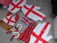 Fun England football party stuff