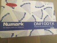 Gemini twin turntables and Numark mixer for sale