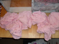 6 ``ASDA`` MOSES FITTED SHEETS FOR CRIBS