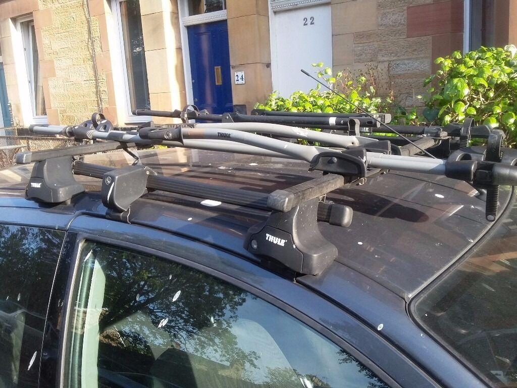 Ford Focus Mk1 3dr Thule Roof Rack Bike Rack In